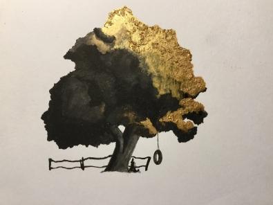 Watercolour on Paper, A5, Apr 2016