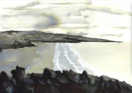 Watercolour on paper, A3, Feb 2016.