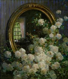 Abbott_Fuller_Graves_-_Flowers_and_Mirror