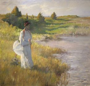 An_Afternoon_Stroll_by_William_Merritt_Chase,_San_Diego_Museum_of_Art