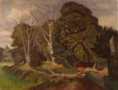 Nash, John; The Fallen Tree; https://www.royalacademy.org.uk/art-artists/work-of-art/O1649 Credit line: (c) The Artist's Estate (c) Royal Academy of Arts / Photographer credit: Prudence Cuming Associates Limited /