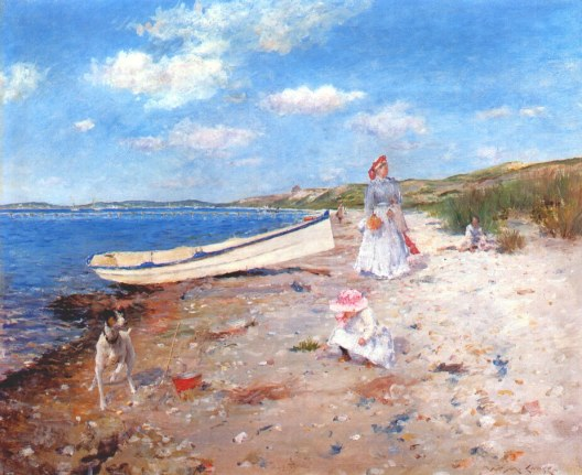 Chase_William_Merritt_A_Sunny_Day_at_Shinnecock_Bay_c1892