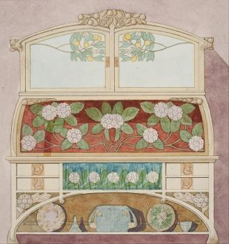 Gaspar_Homar_-_Design_for_a_sideboard_-_Google_Art_Project