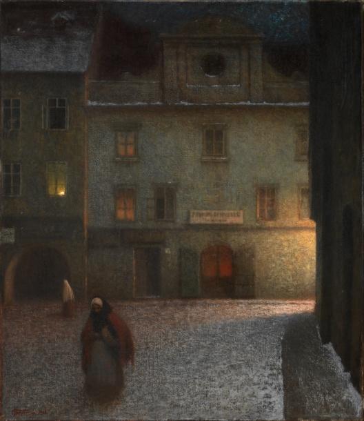 Jakub_Schikaneder_-_Evening_Street_-_Google_Art_Project