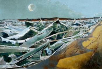 Totes Meer (Dead Sea) 1940-1 Paul Nash 1889-1946 Presented by the War Artists Advisory Committee 1946 http://www.tate.org.uk/art/work/N05717