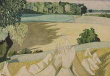 The Cornfield 1918 John Nash 1893-1977 Bequeathed by Sir Edward Marsh through the Contemporary Art Society 1954 http://www.tate.org.uk/art/work/N06234
