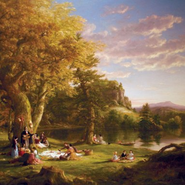 Pic-Nic-oil-canvas-Thomas-Cole-New-York-1846